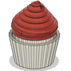 Télécharger objet 3D gratuit Cupcake Box, LHeliceCassee