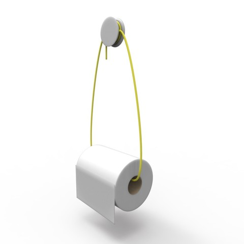 untitled.89.jpg Download free STL file REVERSIBLE - toilet paper and towel rail  • 3D printable model, jacopo