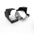 Diseños 3D soporte de papel polaroid, jacopo