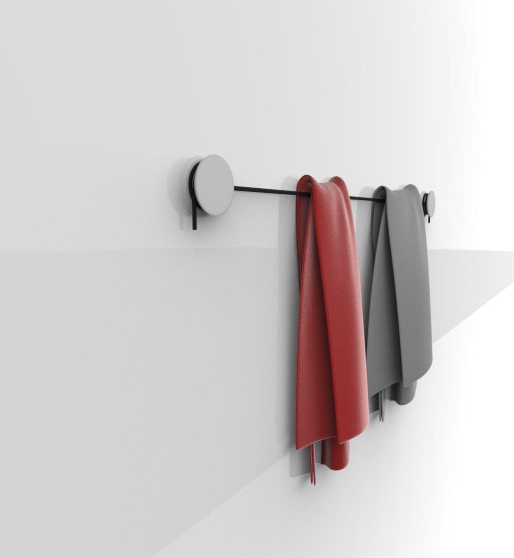 papertif.93.jpg Download free STL file REVERSIBLE - toilet paper and towel rail  • 3D printable model, jacopo