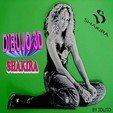 Free 3d print files 3D drawing SHAKIRA, 3dlito