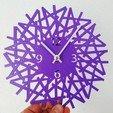 Télécharger fichier STL gratuit Reloj de pared • Modèle pour imprimante 3D, 3dlito