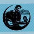 Télécharger fichier STL Montre Elvis Presley (2 versions), 3dlito
