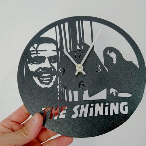89685f69e44d303f77d3c7c03319644c_display_large.jpg Télécharger fichier STL gratuit Reloj Resplandor (The Shining) • Plan pour impression 3D, 3dlito