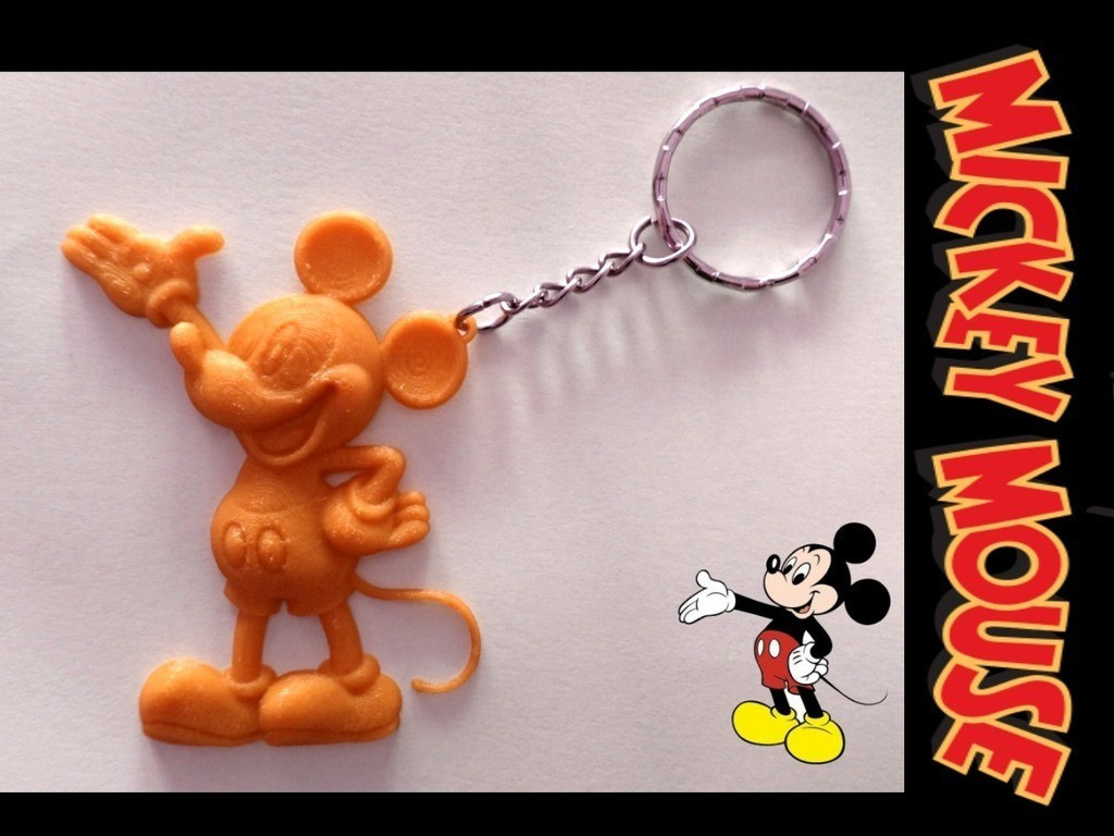 b139c6d137523b54309af96b639c8e88_display_large.jpg Download free STL file Mickey Mouse Keychain • 3D printing design, 3dlito