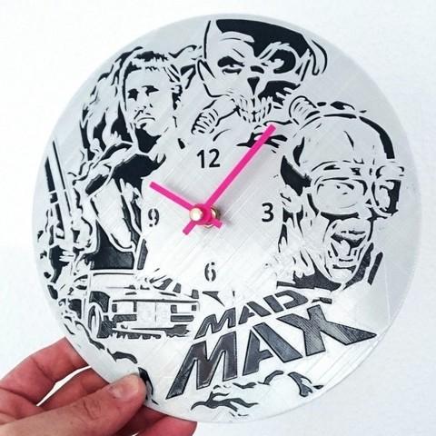 Télécharger plan imprimante 3D gatuit Reloj Mad Max, 3dlito