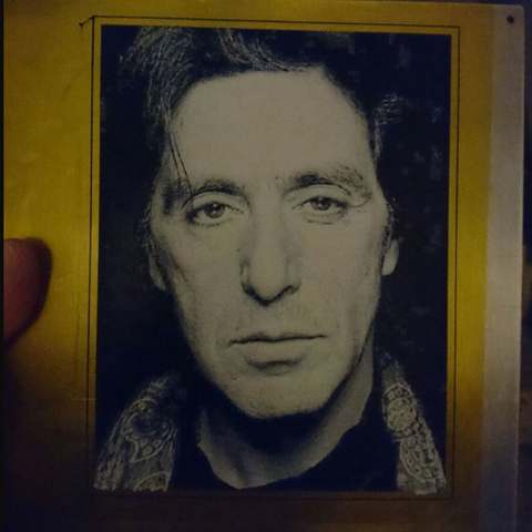 Free 3d printer model 3D drawing of PACINO, 3dlito