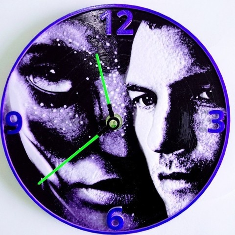 Download free 3D printing templates Reloj Avatar 3D, 3dlito