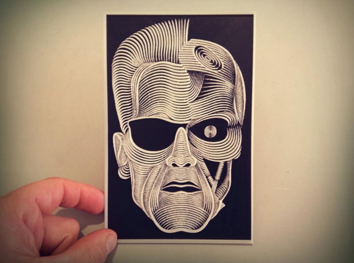 Capture d'écran 2017-12-27 à 10.14.53.png Download free STL file Terminator 3D • 3D printing template, 3dlito