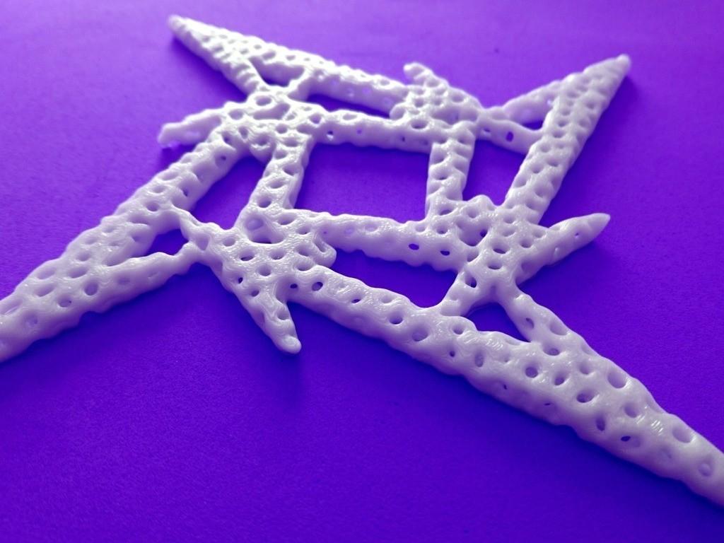 0a2e91ce735d15a5fc7e851b2ff4679c_display_large.jpg Télécharger fichier STL gratuit Voronoi MetallicA logo • Plan pour imprimante 3D, 3dlito