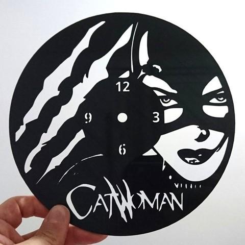 Télécharger STL gratuit Reloj catwoman, 3dlito