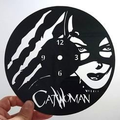 STL gratuit Reloj catwoman, 3dlito