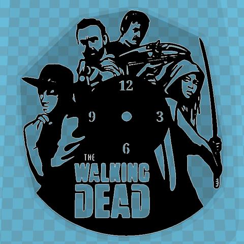 Descargar archivos STL Reloj THE WALKING DEAD, 3dlito