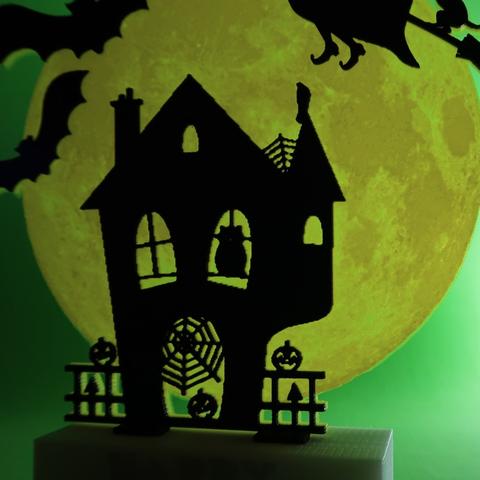 Capture d'écran 2017-10-31 à 09.36.34.png Download free STL file Happy Halloween • 3D printable template, 3dlito