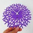 Download free 3D printer designs Reloj de pared, 3dlito