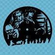 Download free STL files El Hobbit Clock, 3dlito