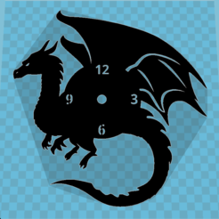 Download free 3D printing templates DRAGON WATCH, 3dlito