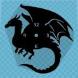 DRAGON (2).PNG Télécharger fichier STL gratuit MONTRE DRAGON • Modèle pour impression 3D, 3dlito