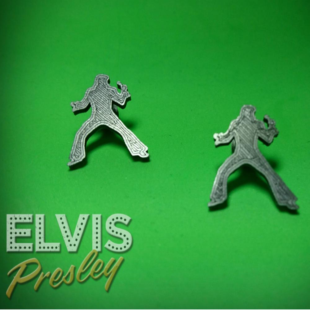 FotorCreatedelvis.png Télécharger fichier STL gratuit OREILLES / PIN ELVIS PRELEY • Plan pour imprimante 3D, 3dlito