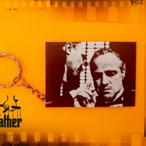 Free stl The Godfather Key Chain, 3dlito