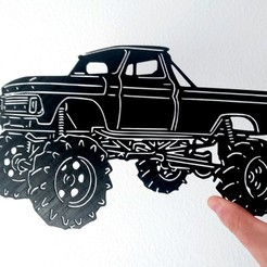 Download free 3D printer designs Offroad stencil, 3dlito