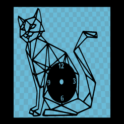 Download free 3D print files Reloj gato v3, 3dlito