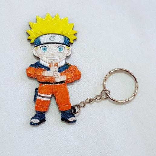 Download free 3D printer files Llavero Naruto, 3dlito