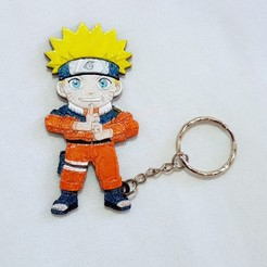 Download free 3D printer files Llavero Naruto, 3dlito