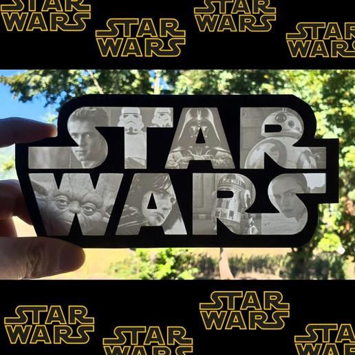Télécharger modèle 3D Litophane Star Wars, 3dlito