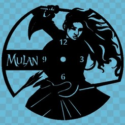 mulaan.jpg Download free STL file MULAN WATCH • 3D printable design, 3dlito