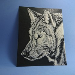 Download free 3D printer files 3D drawing WOLF (LOBO), 3dlito