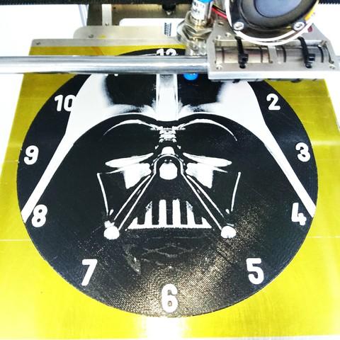 photostudio_1493450576259.jpg Download free STL file Darth Vader Clock • 3D printable template, 3dlito