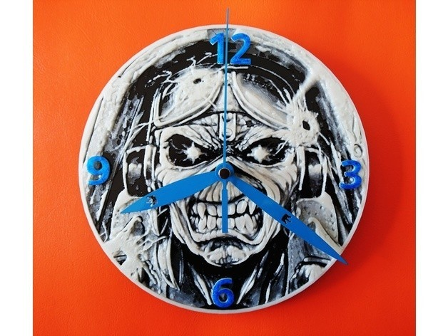 3e1dbd7a6f7d303dddde27c9f3800f11_preview_featured.jpg Download free STL file Eddie watch (IRON MAIDEN) • Design to 3D print, 3dlito