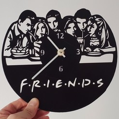 Download 3D print files FRIENDS WATCH, 3dlito
