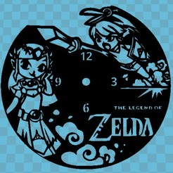 zelda 1.jpg Download STL file ZELDA WATCH • 3D print object, 3dlito