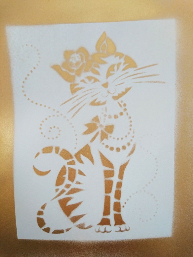 2b2b0f8e9f4cb30876bdaf55440e6507_display_large.jpg Download free STL file Cat Stencil • Template to 3D print, 3dlito