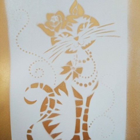 Download free 3D printing files Cat Stencil, 3dlito