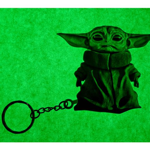 baby2.png Télécharger fichier STL Llavero Baby Yoda • Modèle pour impression 3D, 3dlito