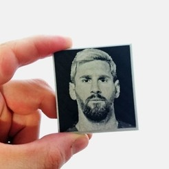 Free 3D printer files Messi key ring 2, 3dlito