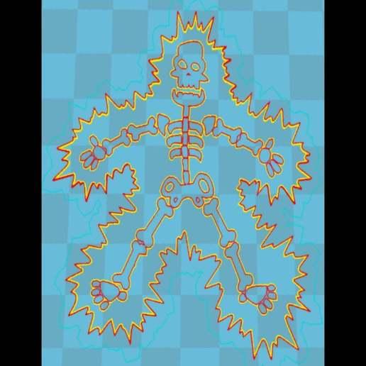 Sin_Título24.jpg Download free STL file electro skeleton lithophane • 3D printer template, 3dlito