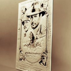 Free stl file Indiana Jones and the last crusade 3D DRAWING, 3dlito