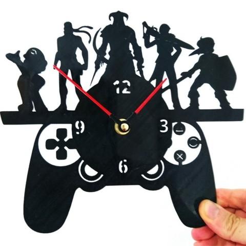 Download free 3D printer designs Clock Games, 3dlito