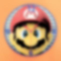 Download free STL files Mario 3D Clock, 3dlito