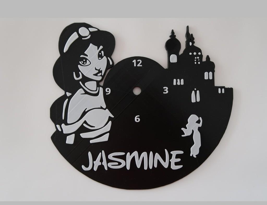 f267329ad7a13957263255d502476ced_display_large.jpg Télécharger fichier STL gratuit Reloj Jasmin (VERSIONS X3) • Modèle à imprimer en 3D, 3dlito