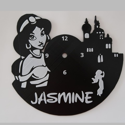 Download free 3D printer templates Reloj Jasmine (X3 VERSIONES), 3dlito