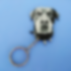Download free STL file Rottweiler ENIA keychain • 3D printer design, 3dlito