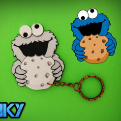 Free 3D printer designs Triky keychain, 3dlito