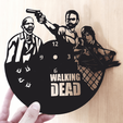 Download 3D printing designs THE WALKING DEAD watch, 3dlito