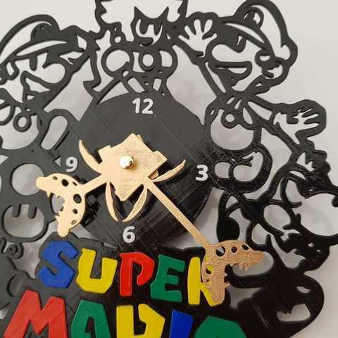 IMG-20180815-WA0046.jpg Télécharger fichier STL Super Mario Horloge • Design à imprimer en 3D, 3dlito