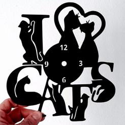 STL Clock GATOS, 3dlito